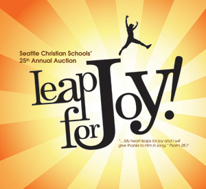 Auction Logo - Leap For Joy